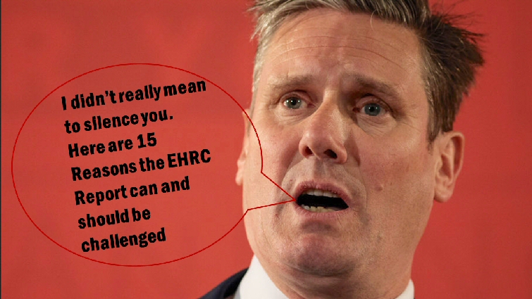 """Starmer says """"15 reasons you speak out"""""""